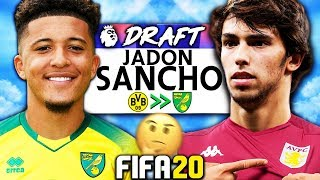WHAT IF CAREER MODE HAD A RANDOM WONDERKID DRAFT?!? FIFA 20 Experiment