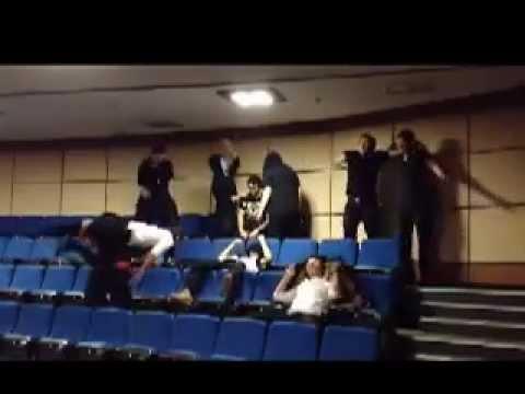 Izmir Saint Joseph High School Harlem Shake in conference