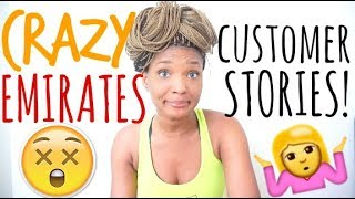 EMIRATES CABIN CREW | Crazy Customer STORYTIME