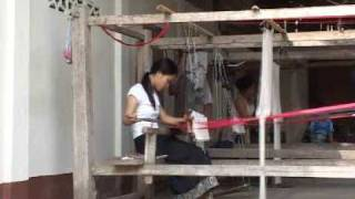 Women  Weaving - Back Strap Loom
