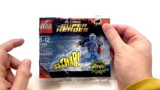 30603 DC Comics Super Heroes Batman Classic TV Series Mr Freeze (Review)