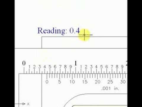 how to read a vernier caliper youtube. Black Bedroom Furniture Sets. Home Design Ideas