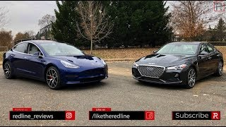 Tesla Model 3 Vs. Genesis G70 - Battle For The Future?