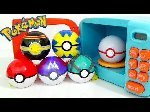 Pokemon Play-Doh and Magic Microwave Surprise Cooking Playset