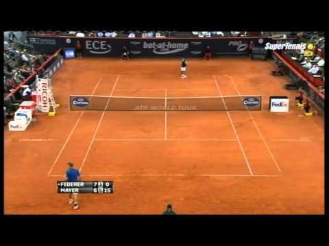 Federer Mayer  Qdf  HAM2013  Best Roger's points