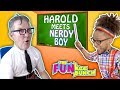 EXTREME NERD CHALLENGE!!...BAD BOY SCHOOL FOR NERDS!! FARTS