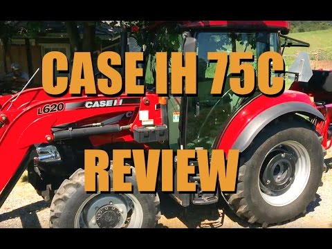 Case 75C Tractor Review
