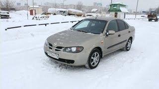 2004 Nissan Almera 1.8. In depth tour, Test Drive.
