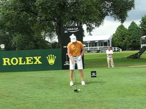 Lexus Cup 2008 - Range Roving with Annika Sorenstam (Front View) Video