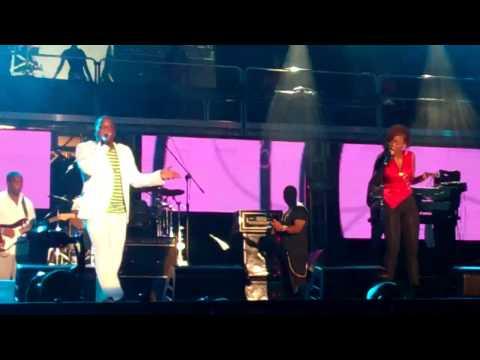 Cherine Anderson&Chuck Fenda @ Reggae Sumfest 7-23-11 Performing