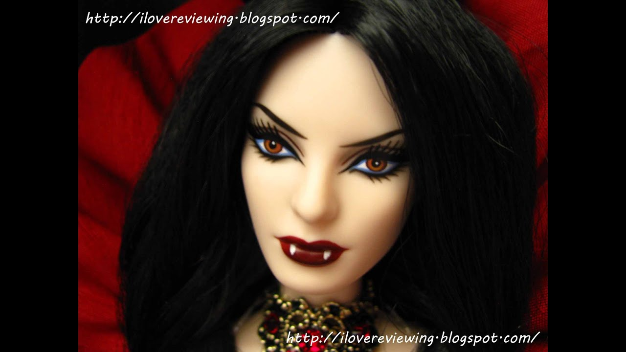 Beauty Vampire Barbie Doll