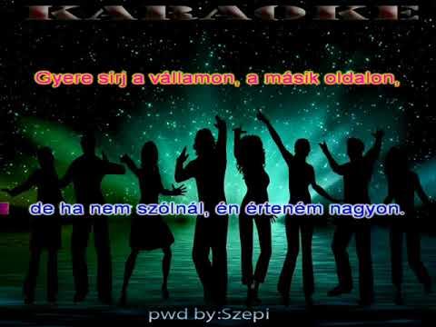 Zámbó Jimmy--Sírj a vállamon--(Karaoke)pwd by:Szepi