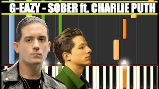 Download Lagu SOBER (G-Eazy ft. Charlie Puth) Piano Tutorial / Cover SYNTHESIA + MIDI & SHEETS Gratis STAFABAND
