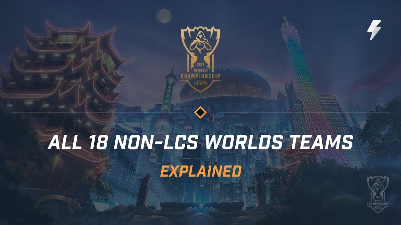 All 18 Non-LCS Worlds 2017 Teams, Explained