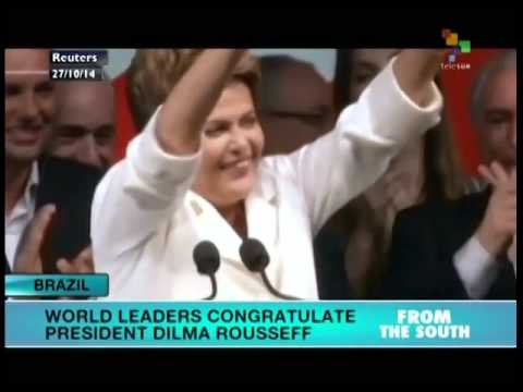 World leaders congratulate Rousseff on winning re-election