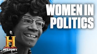 Groundbreaking Women in Politics | History