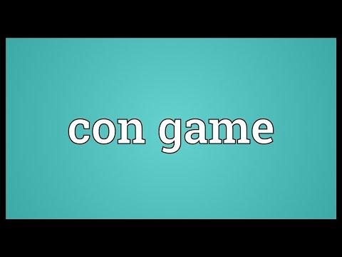 Header of con game