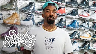 JR Smith Goes Sneaker Shopping With Complex