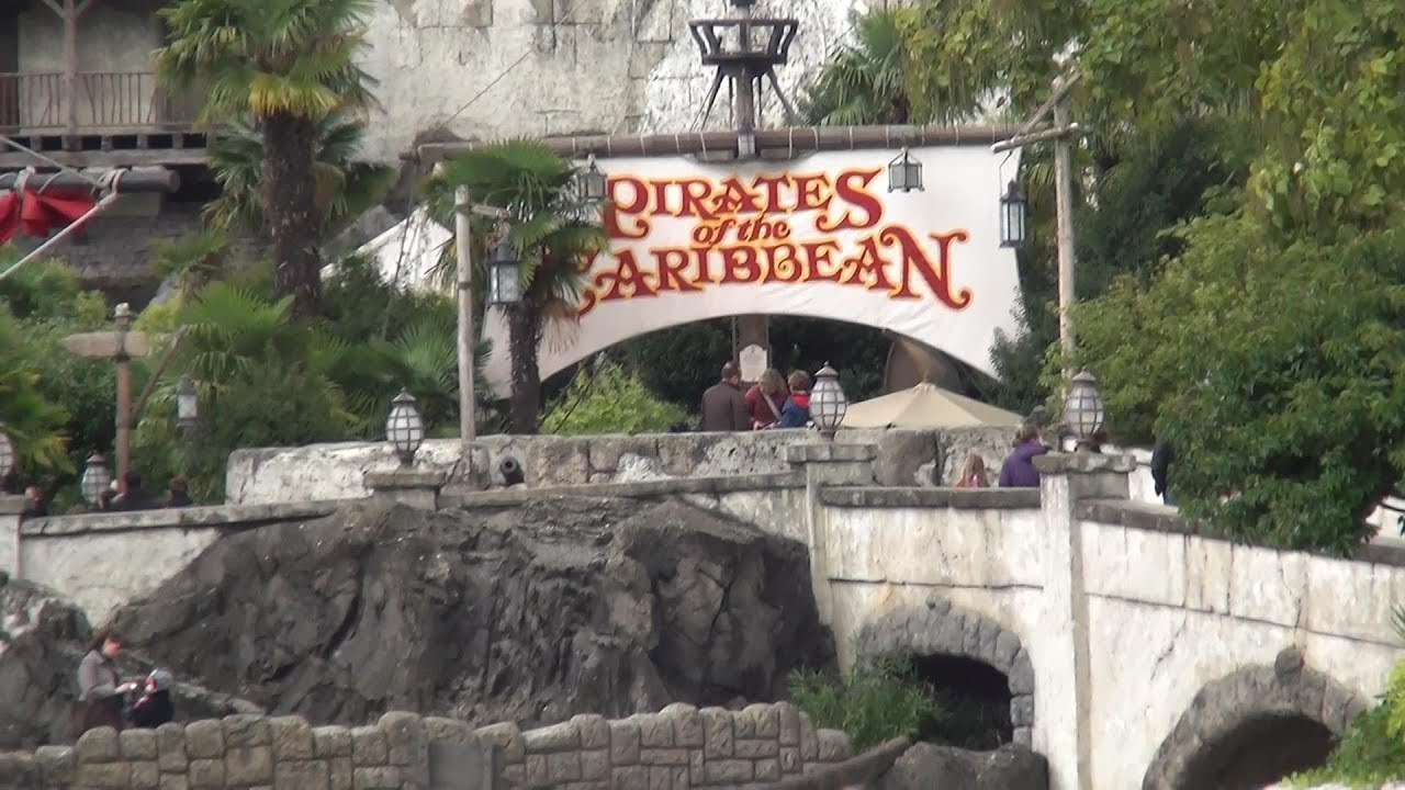 pirates des caraibes disneyland paris pirates of the caribbean full attraction 2013 hd youtube. Black Bedroom Furniture Sets. Home Design Ideas