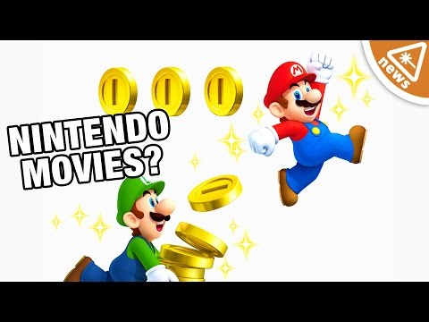 Are We About to See Nintendo Movies? (Nerdist News w/ Kyle Hill)