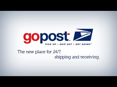 gopost™ 24/7 Shipping & Receiving