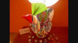 3d Origami Giant Peacock For Sale