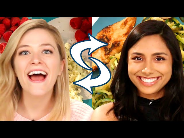 Best Friends Swap Diets For A Week • Kelsey and Michelle thumbnail