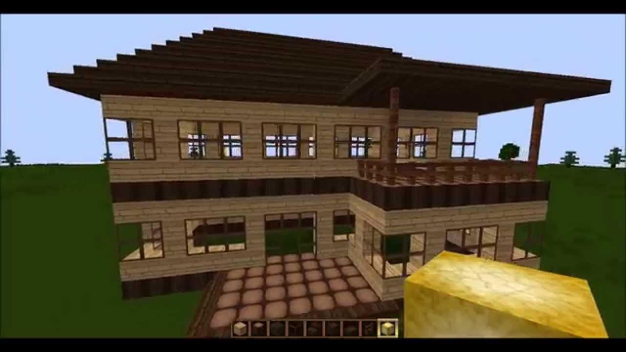 Minecraft Spielen Deutsch Minecraft Haus Bauen Youtube Bild - Minecraft haus bauen german