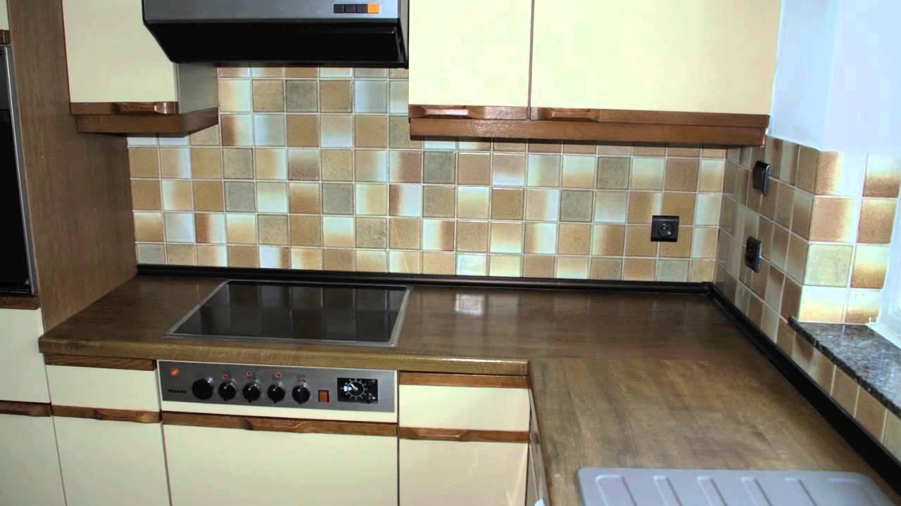 Keuken renovatie - YouTube