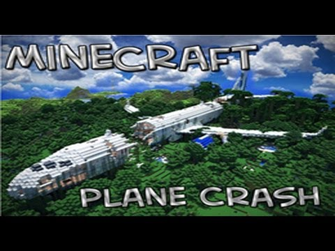 Minecraft Adventure Map | The Plane Crash | w/Squid & Paul | Part 1
