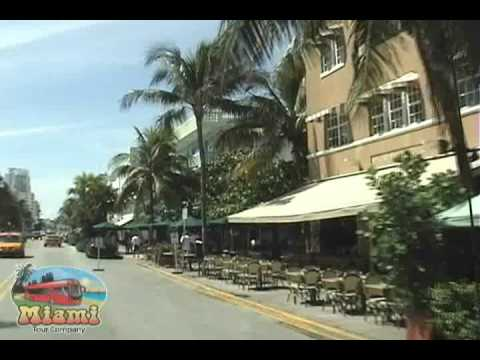 Narrated Bus Tour in South Beach, Miami