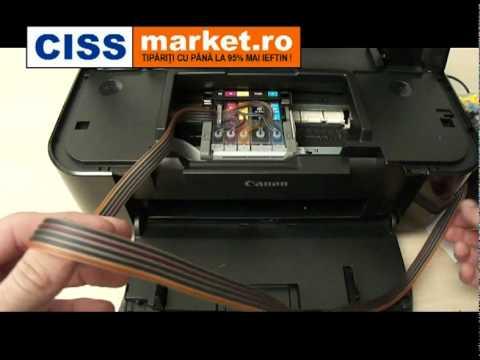CISS pt. Canon IP3600  - Ghid de instalare - CISSmarket