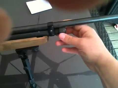 Smk xs78/qb78 air rifle - YouTube