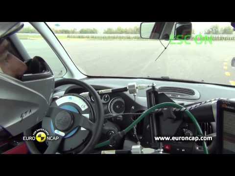 Euro NCAP | Fiat 500L | 2012 | Электронный контроль устойчивости