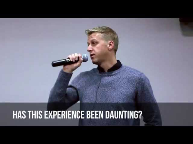 Q&A With Gareth Cliff: Has This Experience Been Daunting?