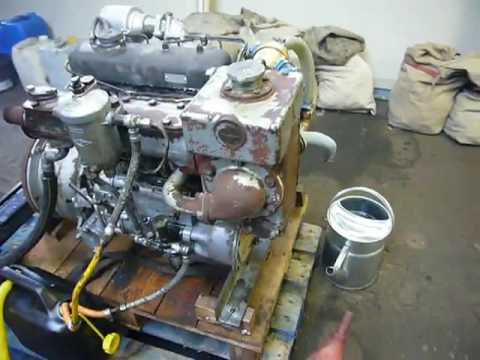 Om636 mercedes marine engine youtube for Mercedes benz marine engines