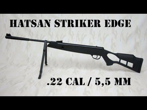 Hatsan Striker Edge .22 cal break barrel spring powered airrifle [no vortex]