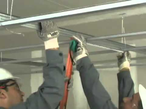 Como colocar plafones placa comex youtube - Como colocar pladur en techo ...