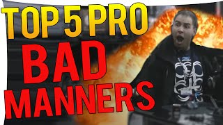 CS:GO - TOP 5 MOST BM PRO PLAYER MOMENTS!