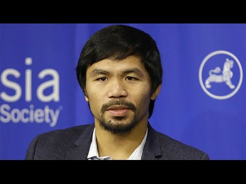 Manny Pacquiao: Gay People Are Worse Than Animals