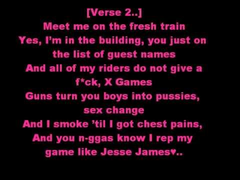 Lil Wayne Ft Drake Right Above It Lyrics