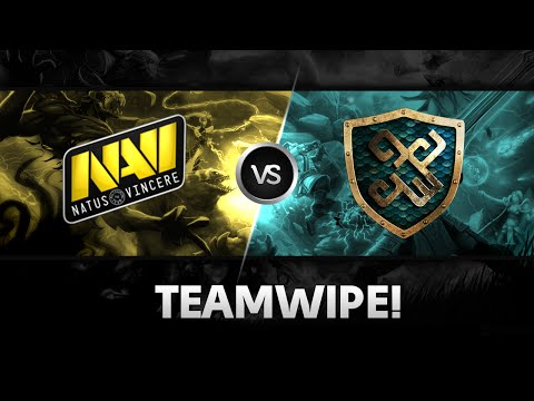 Teamwipe by Na'Vi vs xGame @Starseries X Europe