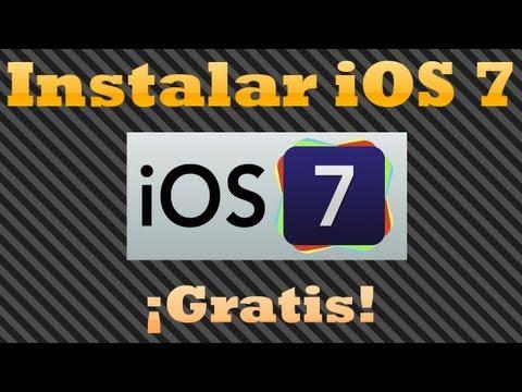 Cómo instalar iOS 7 gratis sin ser desarrollador [iPhone y iPod Touch]