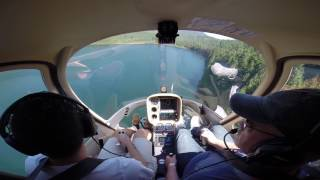 My Helicopter Introductory Flight at BC Helicopters in a Cabri G2