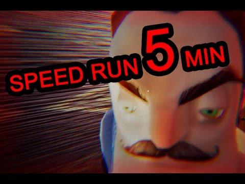 Hello Neighbor Alpha 4 Speedrun [5 MINUTES]