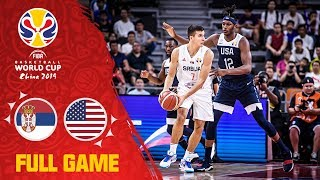 Serbia & USA go head to head! - Full Game - FIBA Basketball World Cup 2019