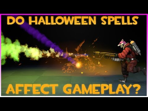 TF2: Do Halloween Spells Affect Gameplay? (+ What Are Halloween Spells)