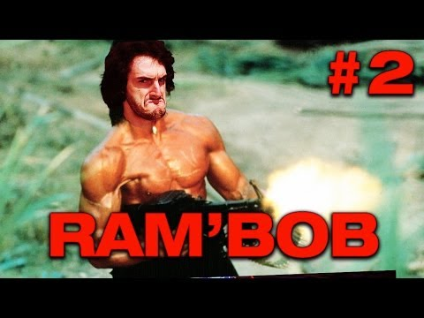 RAMBOB - Ep.2 - Playthrough sur Rambo avec Bob Lennon