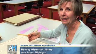 C-SPAN Cities Tour - Ann Arbor: The Signal of Liberty Newspaper