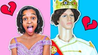 Bad Baby Prince Charming ATTACKS Shiloh And Shasha - Disney Mannequin Attacks - Onyx Kids